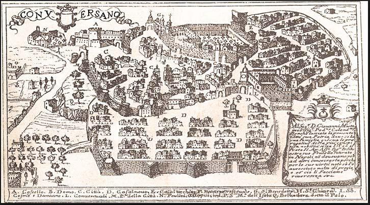 Mappa Conversano antica